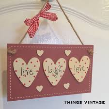 live laugh love signs shabby chic live laugh love hanging sign u2013 things vintage