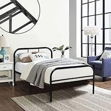 single metal bed frame coavas 3ft single adults solid bedstead