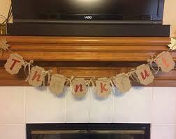 thanksgiving banner etsy