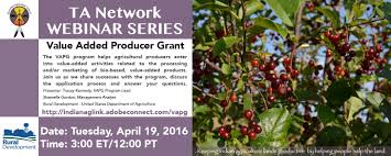 the 2016 value added producer grant program is open join us for
