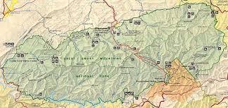 Mountain Map Smoky Mountain Map My Blog