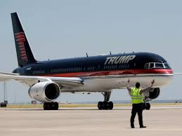 donald trump u0027s boeing 757 airliner turned private jet business