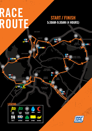 Map Running Routes by Nike We Run Kl 21k 2016 Race Route Jpg