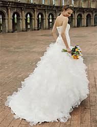 lace ruffle wedding dresses lightinthebox com