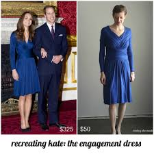 Kate Middleton Dress Style From by Recreating Kate Issa Engagement Dress Mabey She Made It
