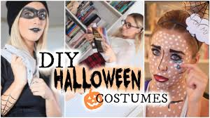 diy halloween costume 2017 3 diy halloween costumes youtube