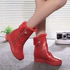womens style boots nz s shoes nz winter warm wedge heel toe fashion boots