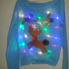 hilarious ugly christmas sweater lights from thecostumestop on