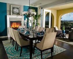 Teal Dining Room Table - Teal dining room