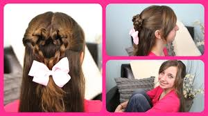 How To Make Hairstyles For Girls by Twist Braided Heart Valentines Day Hairstyles Cute Girls
