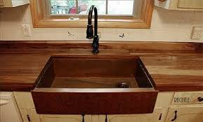 Copper Farmhouse Sinks Handcrafted In The USA - Copper sink kitchen