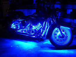 Motorcycle Led Strip Lights by Wireless Blue Led Strip Kit For Boat Marine Car Interior Lighting