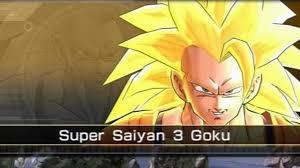 dragon ball battle unlock super saiyan 3 goku