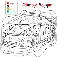 coloriage magique ps