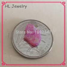 Opal Teh 20pcs lot op10 gum pink color syntehtic opal hamsa 8 10mm