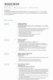 developer resume template software engineer resume template best of software developer resume
