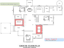 yard plan and elevation 3895 sq ft architecture house plans