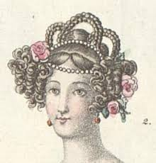 hair style of 1800 55 best 1830 s hair how to s frisur des biedermeier images on
