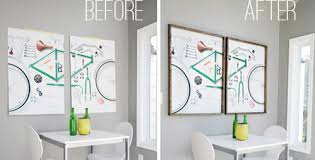 hang poster without frame extraordinary hanging posters without frames making easy wood for