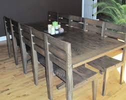 Oak Dining Table Etsy - Handcrafted dining room tables