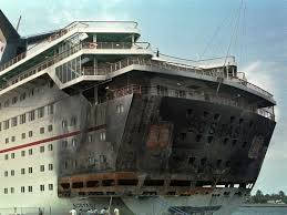 carnival paradise cruise ship sinking carnival disaster timeline in photos business insider