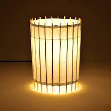 Paper Table Lamp Table Lamp Contemporary Japanese Paper Handmade Kel 2230