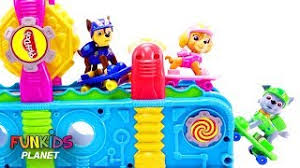 learn colors paw patrol skye u0026 chase family finger song