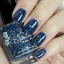amazon com will yule marry me navy glitter nail polish 0 5 oz