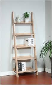 Ladder Bookcase by Corner Ladder Shelf White Langria 4 Tier Shelves Ladder Bookcase