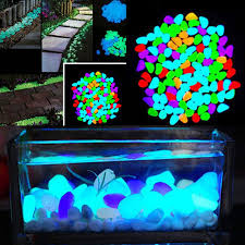 shop 100pcs garden ornaments glow in the artificial