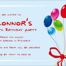 kids birthday party invitation free printable invitation design