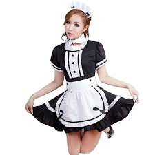 Maid Halloween Costumes Amazon Marshel Women Japanese Maid Halloween Costume Kawaii