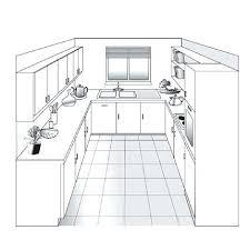 plan de la cuisine plan de la cuisine cuisine en u plan de cuisine ouverte en 3d