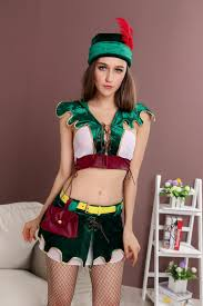 Womens Robin Halloween Costume Popular Women Costume Green Buy Cheap Women Costume Green Lots