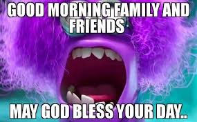 May Day Meme - good morning family and friends may god bless your day meme