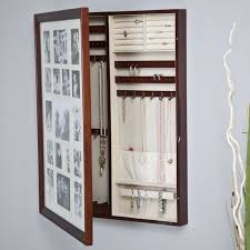Jewelry Cabinets Wall Mounted by 134 Best Jewelry Organizers And Jewelry Boxes Images On Pinterest