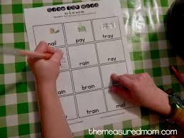 free ay u0026 ai worksheets the measured mom