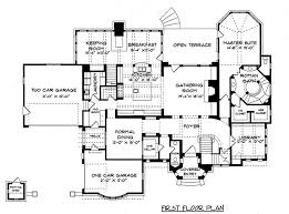 tudor mansion floor plans tudor style house plan 4 beds 4 baths 4934 sq ft plan 413 124
