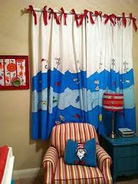 Unisex Nursery Curtains Dr Seuss Nursery I Was Going To Do Gray Chevron And Yellow But