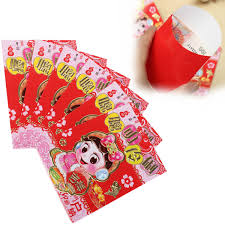 new year money bags 6pcs clever chinatown festival envelope lucky