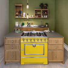 mini island idea for small urban kitchens by la cornue