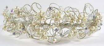 handmade tiaras tiara online handmade vintage beaded bridal tiaras gabrielletiara