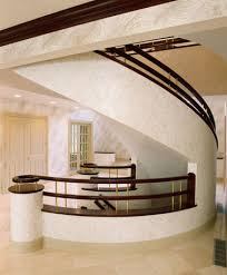 Box Stairs Design Grand Curved Box Stairs With Stacked Rails Design By Great