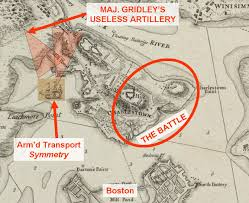 1775 Map Of Boston by Dereliction Of Duty At The Battle Of Bunker Hill Part 3 Of 3