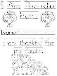 thanksgiving printable book pages for kindergarten happy