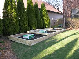 how to build a raised vegetable garden bed on slope best idea garden
