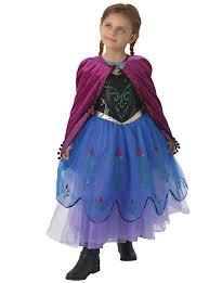 anna frozen premium child costume