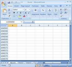 vba for microsoft excel the rows of a spreadsheet