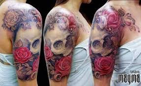 skull and sleeve skull sleeve half