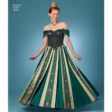 frozen costumes pattern for misses frozen costumes simplicity